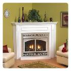 Heater fireplace hearth